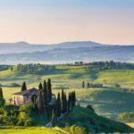 イタリアの農村